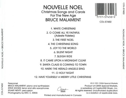 Nouvelle Noel: Christmas Songs and Carols for the New Age - Bruce ...