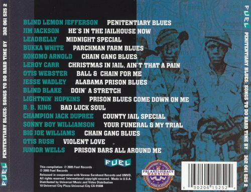 Penitentiary Blues: Songs to Do Hard Time By