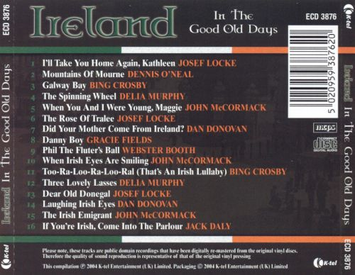 Ireland in the Good Old Days