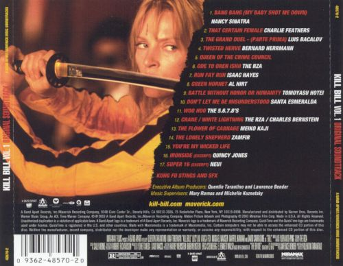 Kill Bill, Vol. 1 [Original Soundtrack] - Original ...