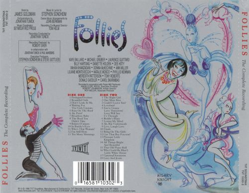 Follies: The Complete Recording [1998 Cast Recording]
