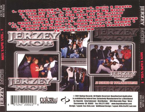 Jerzey Mob: Mix Tape, Vol. 1