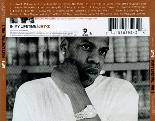 In my lifetime vol 1 jay z songs reviews credits allmusic 1 in my lifetime vol 1 malvernweather Images