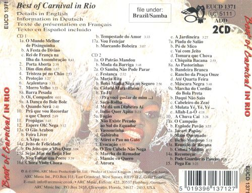 The Best of Carnival in Rio [1999]