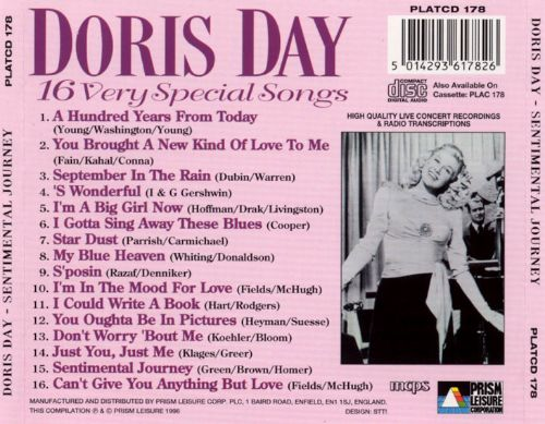 Sentimental Journey: 16 Very Special Songs