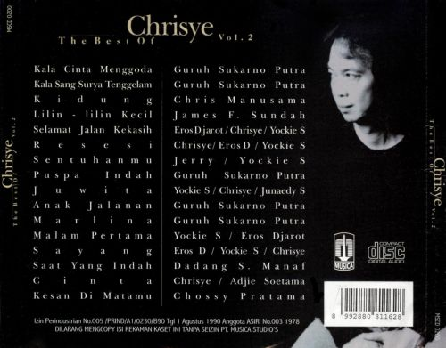 The Best of Chrisye, Vol. 2