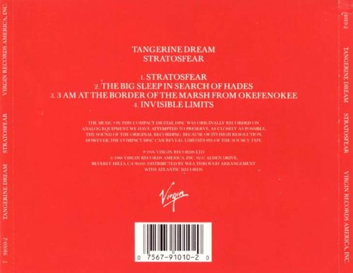 Stratosfear Tangerine Dream Songs Reviews Credits Allmusic