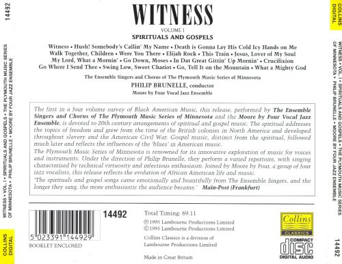 Witness, Vol. 1