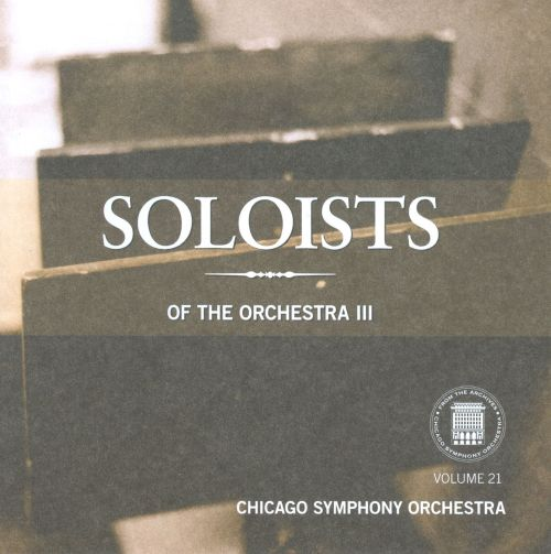 Soloists of the Orchestra, Vol. 3