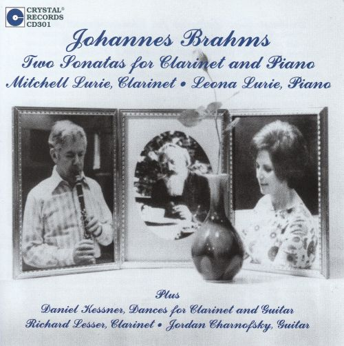 Brahms: Two Sonatas for Clarinet & Piano