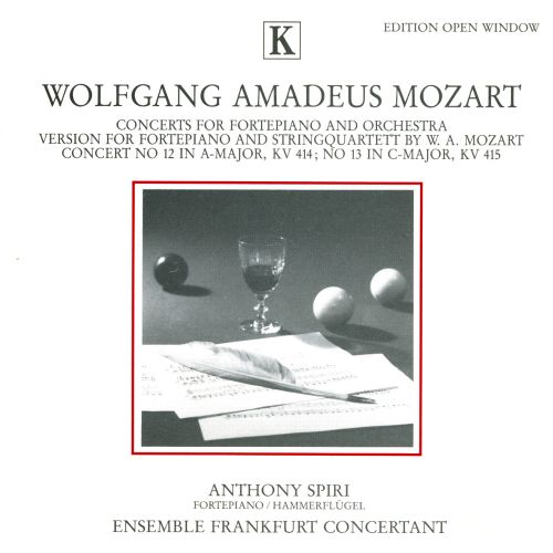 Mozart: Concerts for Fortepiano and Orchestra