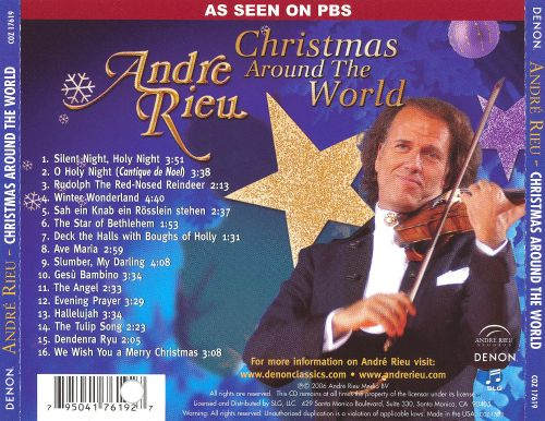 Christmas Around the World - André Rieu | Songs, Reviews, Credits ...