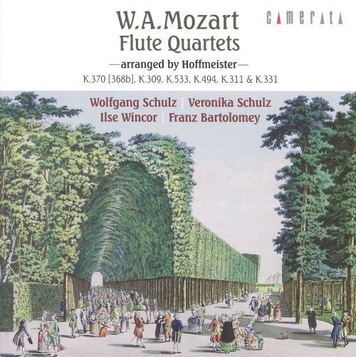 Mozart: Flute Quartets arranged by Hoffmeister