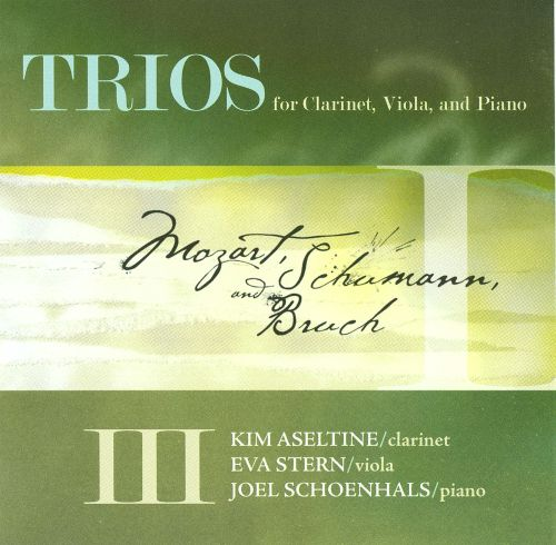 Trios for Clarinet, Viola, and Piano