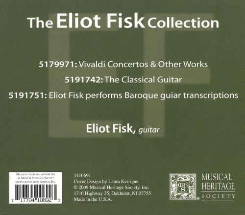 The Eliot Fisk Collection [Box Set]