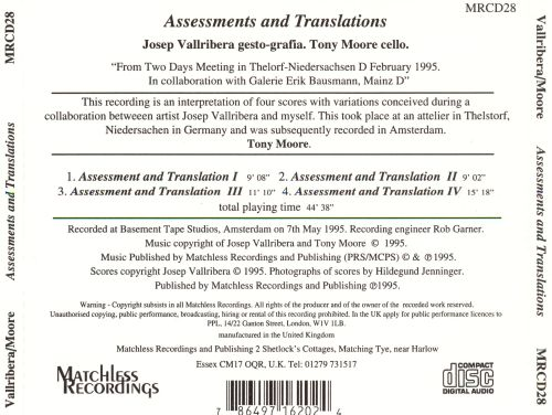 Assessments and Translations