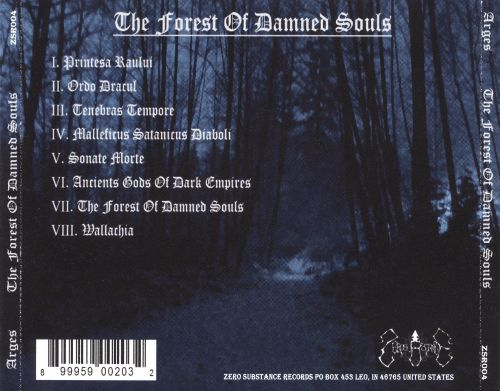 The Forest of Damned Souls