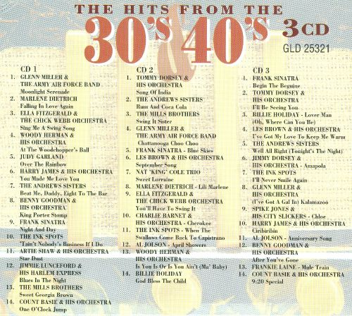 The Thirties and Forties