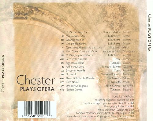 Chester Plays Opera