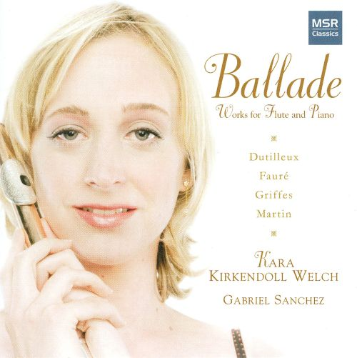 Ballade: Works for Flute & Piano