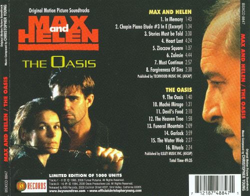 Max and Helen; The Oasis [Original Motion Picture Soundtracks]