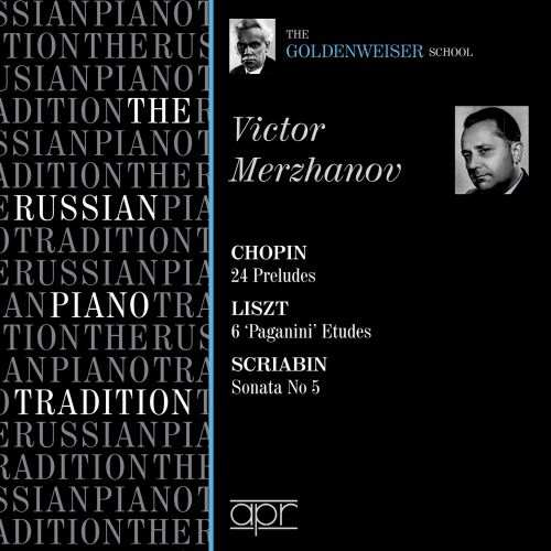 The Russian Piano Tradition: Viktor Merzhanov