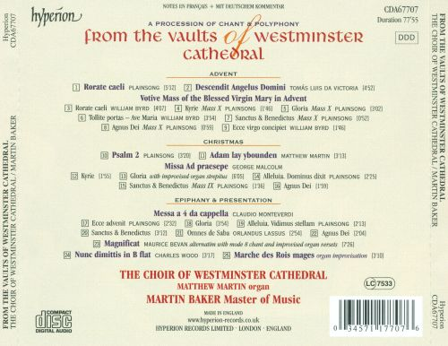 From the Vaults of Westminster Cathedral