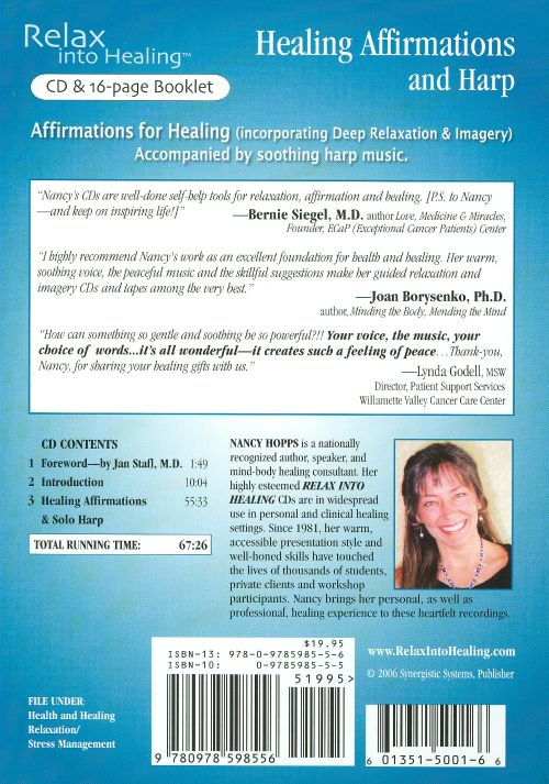 Healing Affirmations and Harp