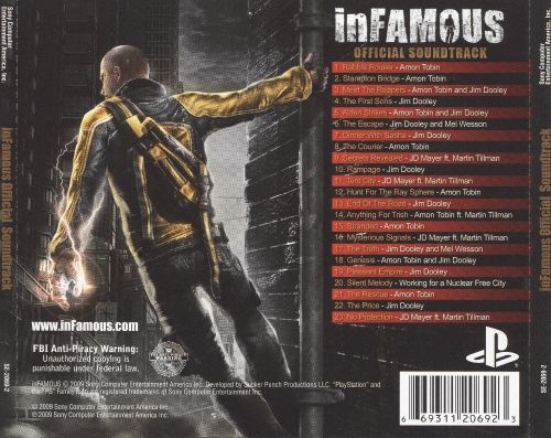 Infamous [Original Game Soundtrack]