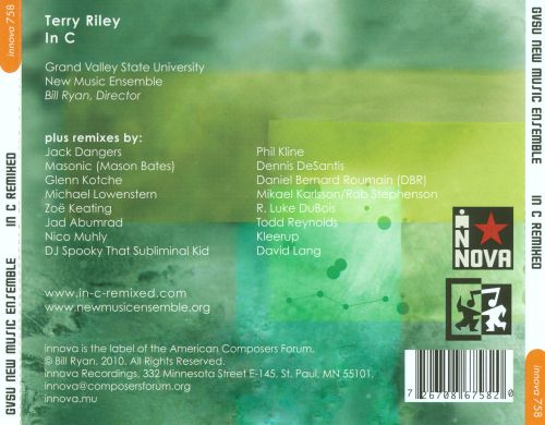 Terry Riley: In C Remixed