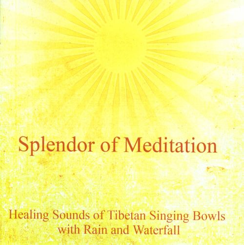 Healing Sounds of Tibetan Singing Bowls with Rain and Waterfall