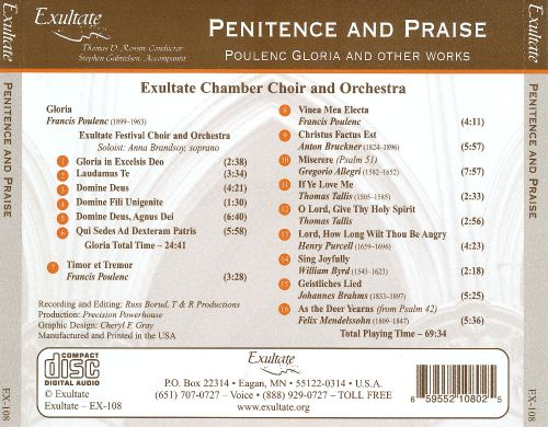 Penitence and Praise