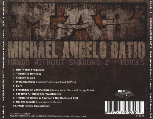michael angelo batio hands without shadows 2 voices