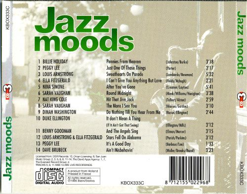 Jazz Moods [Charly Disc 3]