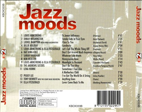 Jazz Moods [Charly Disc 2]