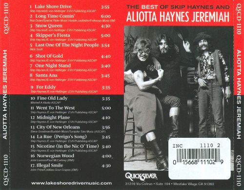 The Best of Skip Haynes and Aliotta Haynes Jeremiah