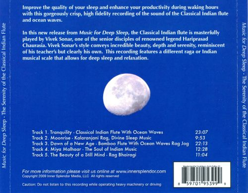 Music For Deep Sleep: The Serenity of The Classical Indian Flute & Ocean Waves
