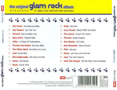The Original Glam Rock Album