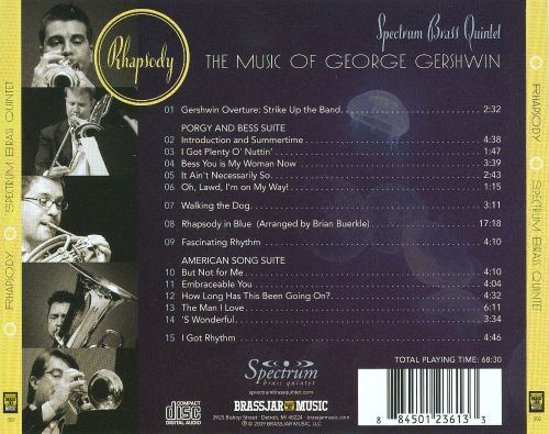Rhapsody: The Music of George Gershwin