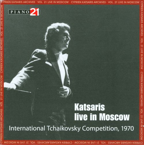Cyprien Katsaris Archives, Vol. 21: Live in Moscow