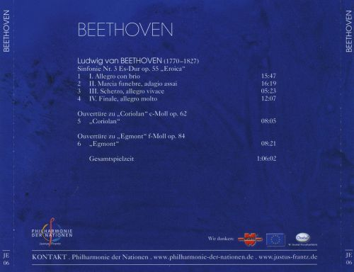 Beethoven: Sinfonie No. 3