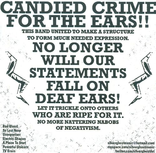 Candied Crime for the Ears!!