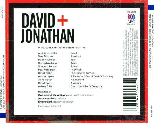 charpentier david and jonathan relationship
