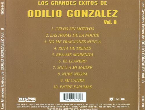 Grandes Exitos, Vol. 8