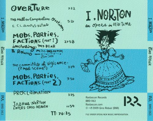 I, Norton: An Opera in Real Time