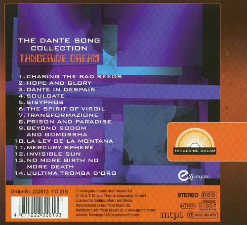 The Dante Song Collection