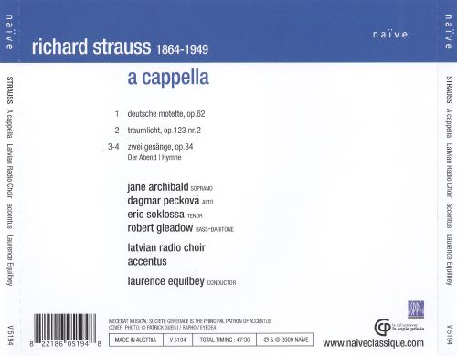 Strauss a cappella