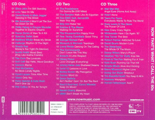 Now that 39 s what i call the 80s 3 cd various artists for 80 s house music list