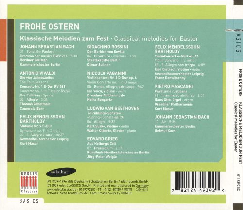 Classical Melodies for Easter