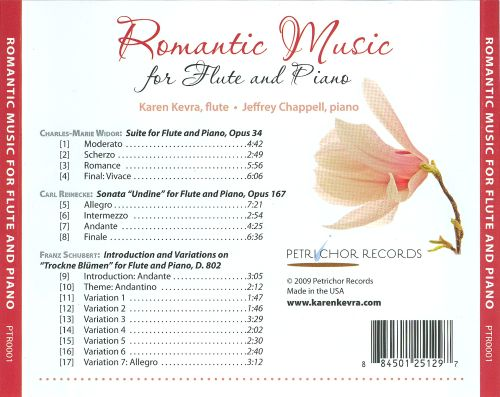 Romantic Music for Flute and Piano